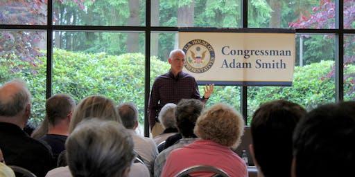 Town Hall with Congressman Adam Smith