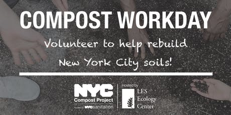 East River Park Compost Volunteer Workday tickets