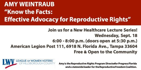 Know the Facts: Effective Advocacy for Reproductive Rights tickets