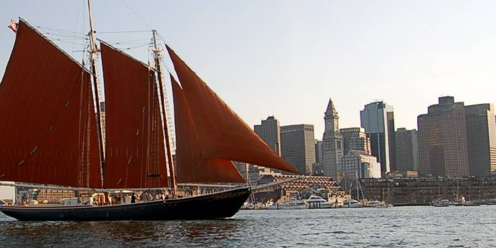 Boston Harbor Sail aboard schooner Roseway Tickets, Tue, Aug