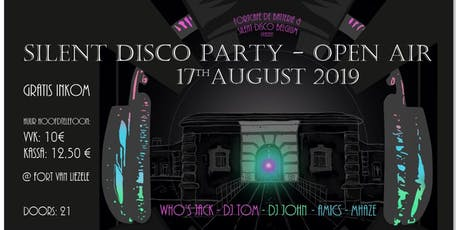Silent Disco Party - open air tickets
