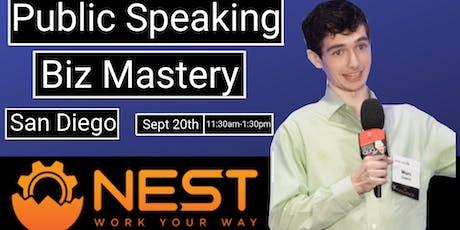 Public Speaking Biz Mastery tickets