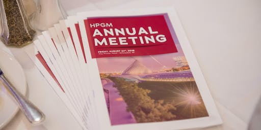 HPGM Annual Meeting 2019