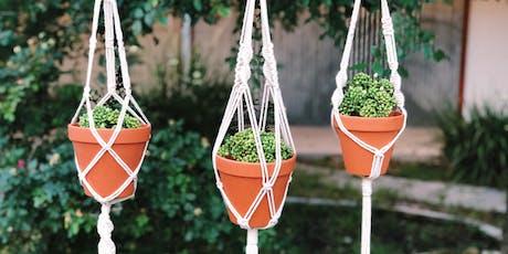 Macrame 101: Plant Hangers tickets