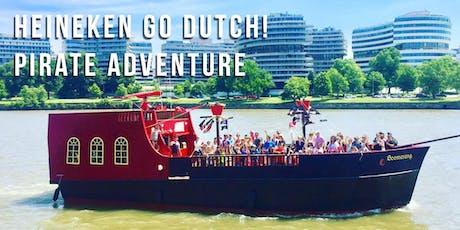 Heineken Go Dutch! Pirate Ship Adventure tickets