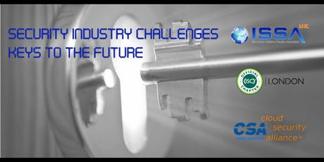 Security Industry Challenges - Keys to the Future tickets