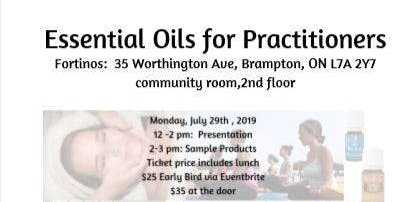 Essential Oils for Practitioners