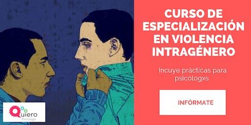 CURSO DE ESPECIALIZACIÓN EN VIOLENCIA INTRAGÉNERO
