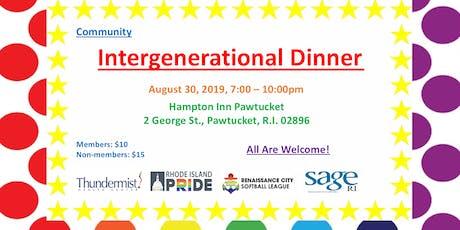 Intergenerational Dinner tickets