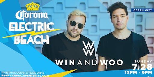Corona Electric Beach w/ Win & Woo