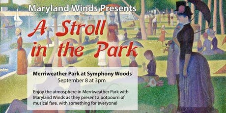 Maryland Winds: A Stroll in the Park (Community Concerts at the Chrysalis) tickets