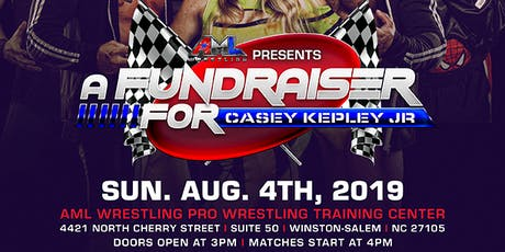 Casey Kepley Jr Fundraiser Pro Wrestling Event tickets