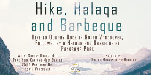 Hike, Halaqa and Barbeque