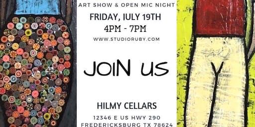 Open Mic Night at Hilmy Cellars