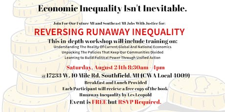 Reversing Runaway Inequality - FOF MI and SEMJWJ tickets