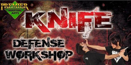 Free Glynn County Knife Defense Workshop