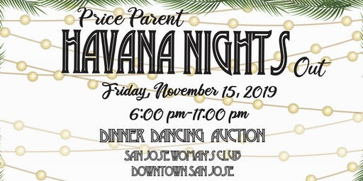 "Price Parent ""Havana Nights"" Out"