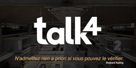 talk4 meetup at Station F tickets