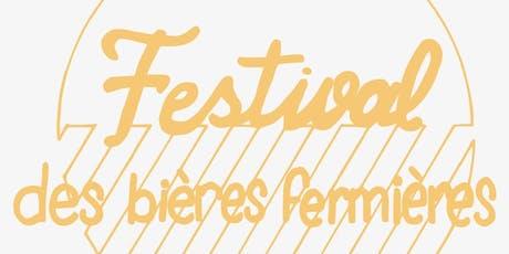 Festival des bières fermières billets