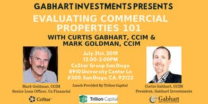Evaluating Commercial Properties 101 by Curtis Gabhart...