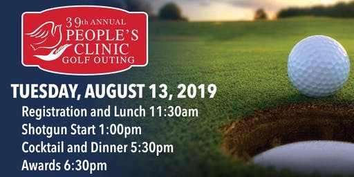 People's Clinic (Historic Chafty Memorial) Golf Outing