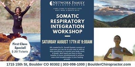 Somatic Respiratory Integration Workshop tickets