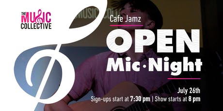 Cafe Jamz: Open Mic Night tickets