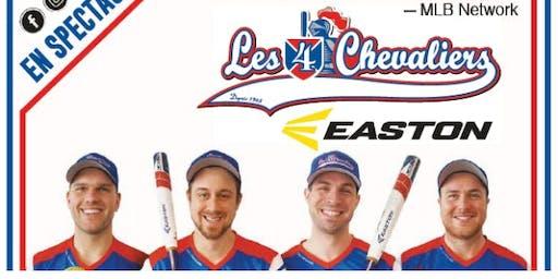 Les 4 Chevaliers - Easton à Beauharnois      De l'humour à coup sur !!