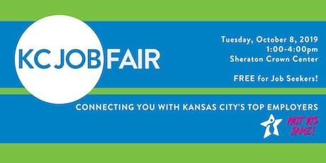 KC Job Fair October 8th tickets