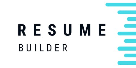 Digital Workshop: Resume Builder - Nice tickets