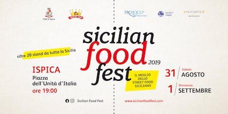 Sicilian Food Fest biglietti