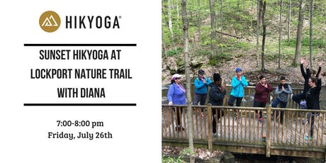 Sunset Hikyoga ® Town of Lockport Nature Trail with Diana tickets