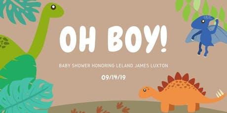 Luxton Baby Shower tickets