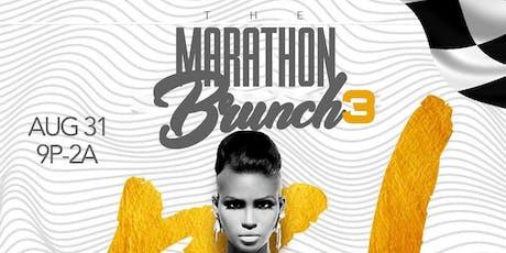 Marathon Brunch PT3 ALL WHITE EDITION! tickets