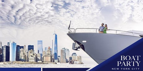 The NYC #1 Yacht Cruise around Manhattan Statue of Liberty Boat Party tickets