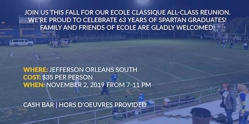 Ecole Classique 2019 All Class Reunion