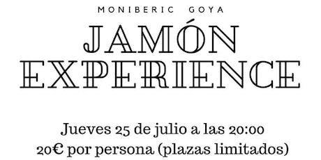 Jamón Experience tickets