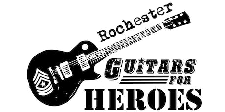 Rochester Guitars for Heroes 2019 (2nd Annual) tickets