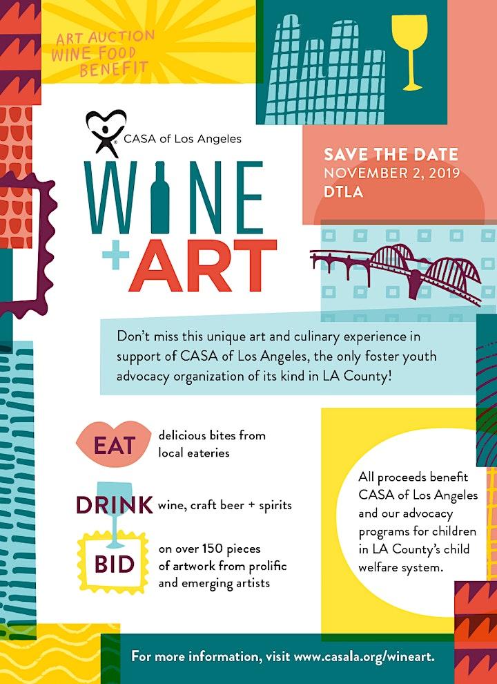 6th Annual Wine+Art image
