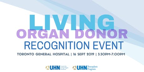 Living Organ Donor Recognition Event tickets