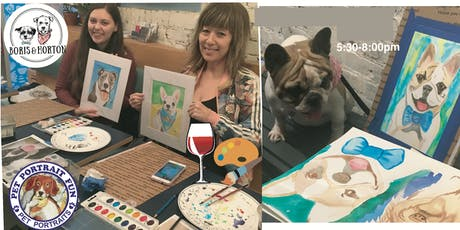 Sip and Paint a Pet Portrait-Yappy Hour NEW YORK-Sept 13 tickets
