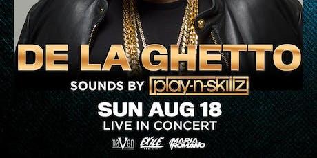 DE LA GHETTO @ THE #1 LAS VEGAS HIP-HOP CLUB - DRAIS NIGHTCLUB LATIN NIGHT  tickets