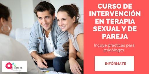 INTERVENCIÓN EN TERAPIA SEXUAL Y DE PAREJA