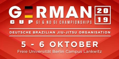 2019 DBJJO GERMAN KIDS CUP (GI only) Tickets