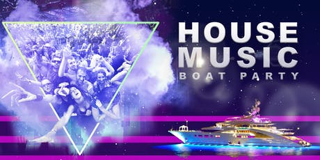 NYC #1 Dance Music Boat Party Yacht Cruise Saturday October 12th tickets