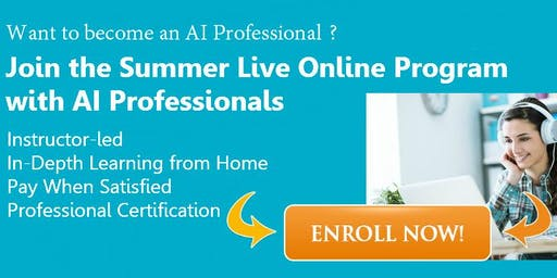 Live Online AI Bootcamp (3 Weeks): Becoming an AI Professional