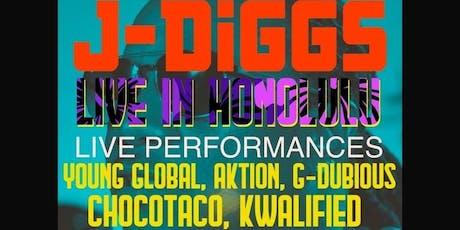 J Diggs Live in Honolulu tickets