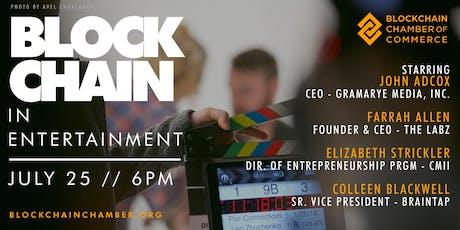 Blockchain in Entertainment tickets