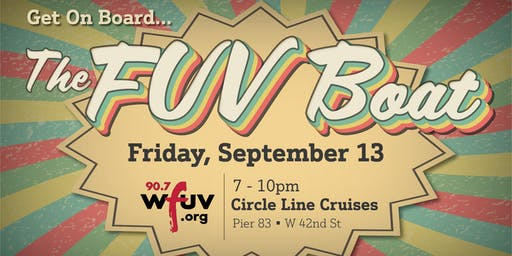 The FUV Boat - A Floating Dance Party for WFUV