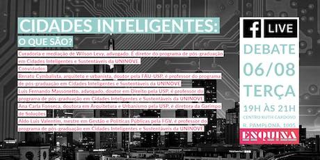Cidades Inteligentes: O Que São? ingressos